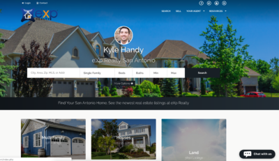 eXp Realty Kunversion Website