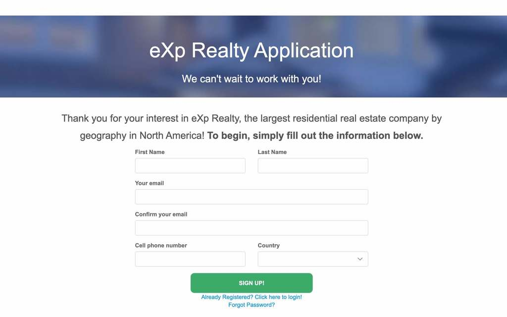 eXp Applicatoin